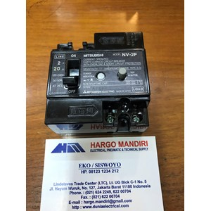 ELCB / Earth Leakage Circuit Breaker Mitsubishi NV-2F