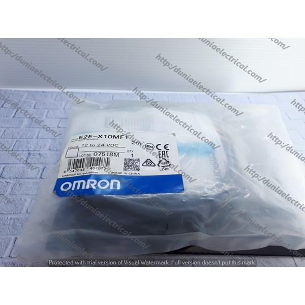 Proximity Switch E2E-X10MF1 Omron