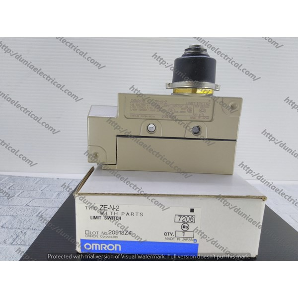 Limit Switch ZE-N-2 Omron