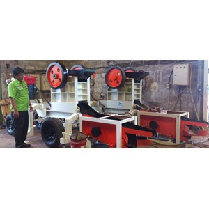Mesin Stone Crusher Mini Type 4050