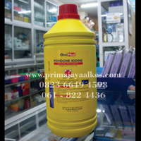 Jual Povidone Iodine One Med 1 L