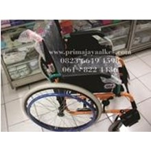 Kursi Roda Standard Dengan Roda Hidup (bisa di isi angin)