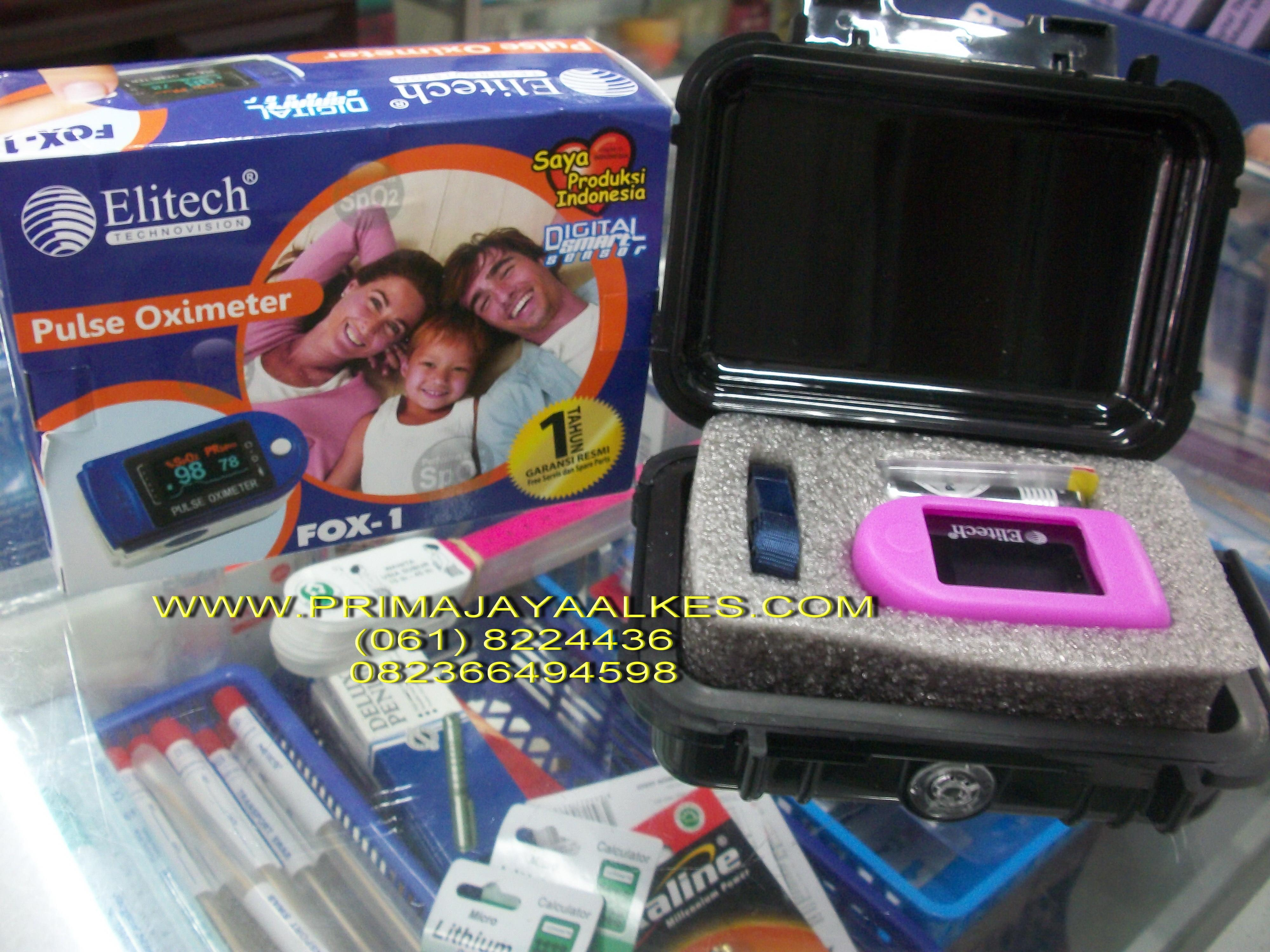 Sell Puse Oximetri From Indonesia By Ud Prima Jaya Alkescheap Price Oxymetri Elitech Fox 1