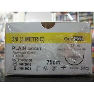 Benang Plain + Jarum 3/0 Onemed