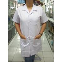 Baju Lab Lengan Pendek