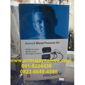 Tensi Aneroid Microlife + Stetoskop