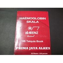 Buku Skala Haemoglobin