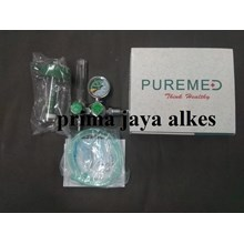 PUREMED oxygen regulator