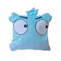 Balmut Good Sleep Travel Blue Bird - Bantal Selimut By Gogomall Home Shopping