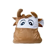 Balmut Good Sleep Travel Cow - Bantal Selimut By G