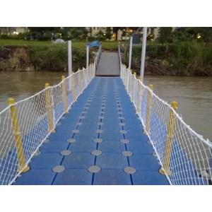 Jembatan terapung