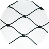 High Density Polyethylene (HDPE) Twisted Knotted Net 1
