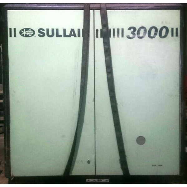 Screw Compressor Sullair 3000