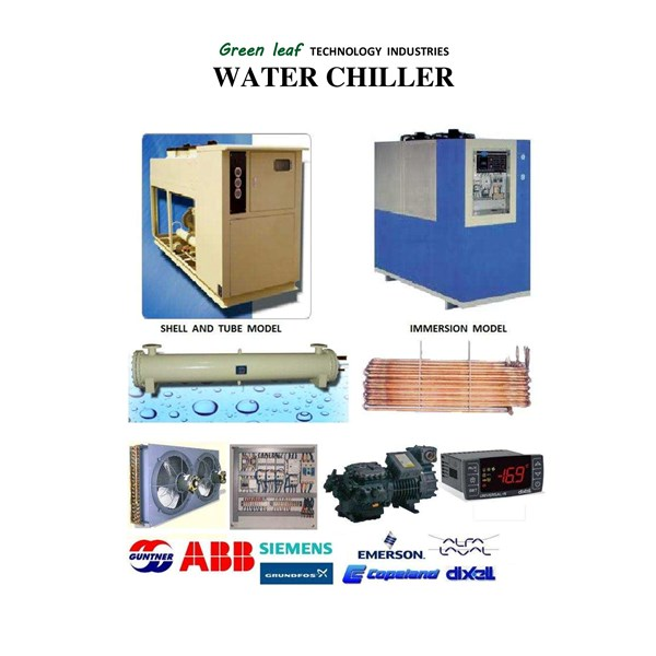 Water Chiler Green Leaf 15 Hp