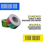 Barricade Tape Hdpe Murni 3' X 500 Meter