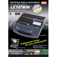 Jual max letatwin lm 390a electronic lettering machine 2