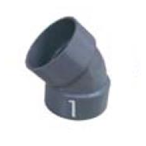 Fitting Pipa PVC Elbow (45L)