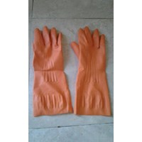Rubber Gloves Half Sleeve
