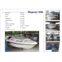 Speed Boat Majesty 550