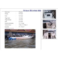 Speed Boat Ocean Hunter 950