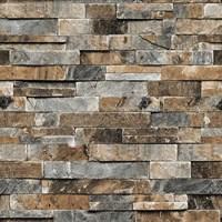 Rock And Bricks Wallpaper Motif Cheap 5