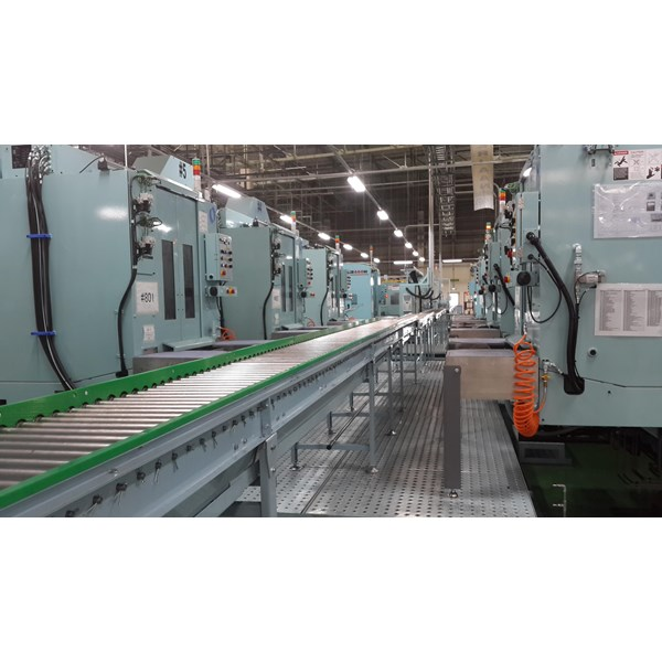 Power Roller Conveyor System