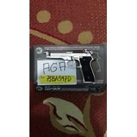 Pistol GBB WE M9 Silver