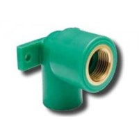 90 Female Threaded Elbow With Clamp Pn25 1