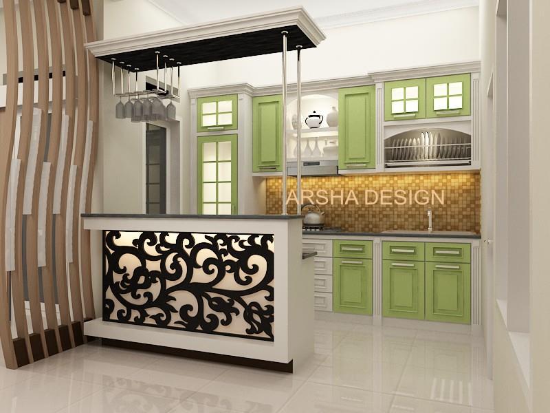 Jual desain interior harga murah tasikmalaya oleh ud for Buat kitchen set murah