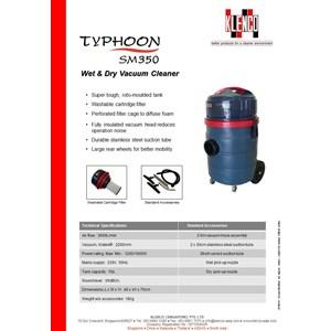 Wet & Dry Vacuum Cleaner Klenco Typhoon Sm350