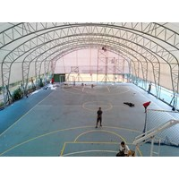 Dari Konstruksi Lapangan Futsal Basket Tenis Indoor 20X30x5m 0