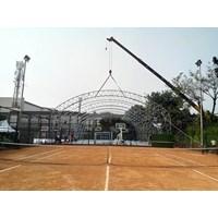 Dari Konstruksi Lapangan Futsal Basket Tenis Indoor 20X30x5m 1