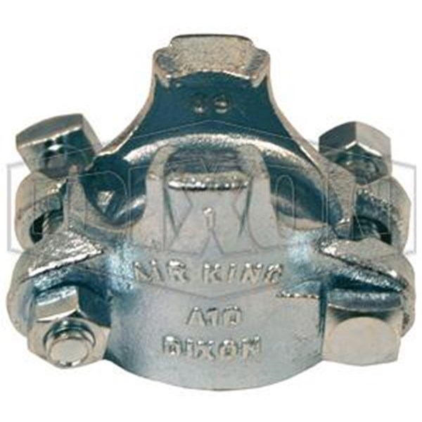 Boss Clamp double bolt clamp