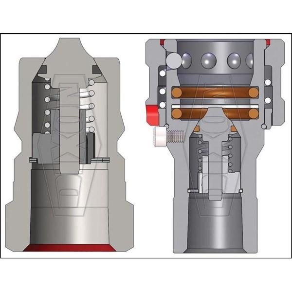 Hidrolik Quick Coupler DIXON H-BOP Series