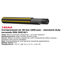 Selang Industri ALFAGOMMA 185 AA COMPRESSED AIR WP. 20 BAR (300 PSI)