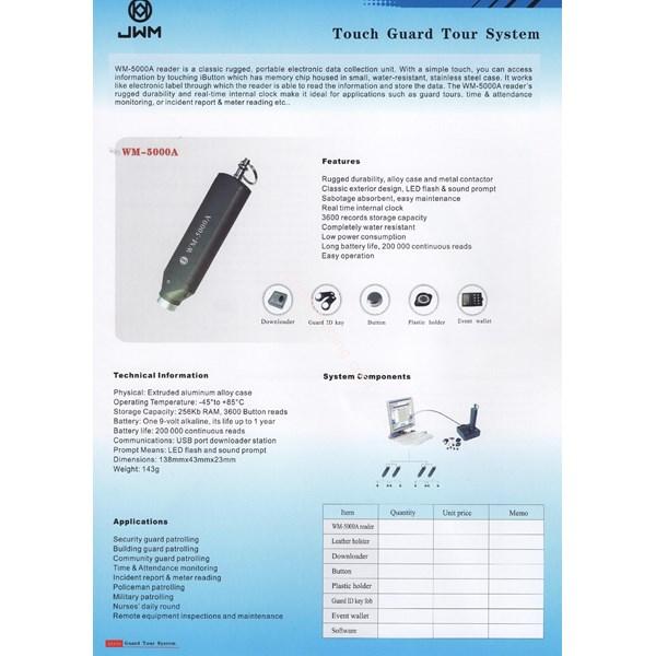 Touch Guard Tour System (WM-5000A)