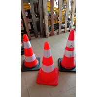 Traffic cone tinggi 75 cm