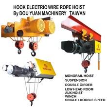 Hoists Wirerope Dou Yuan 1Ton - 30Ton