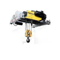 Jual Wire Rope Hoist Pawell Double Girder 2000 Kg - 50000 Kg