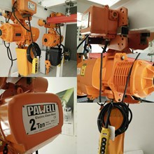 electric chain hoist - wirerope hoist ( pawell - hitachi )
