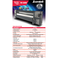 Jual Mesin Digital Printing Outdoor Icontek 3308R