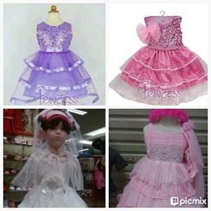 kostum princess anak