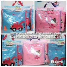 tote bag cover bottle bordir
