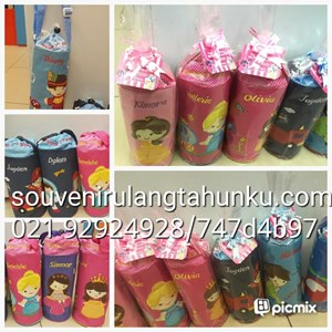 cover bottle bordir