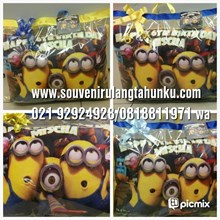 bantal printing minion