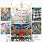 souvenir desert table birthday 2