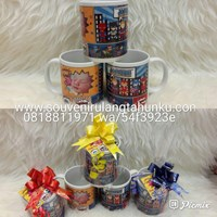 Souvenir mug super hero 1