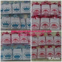 Handuk bordir crown