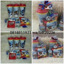 Tumbler dan Snack Label