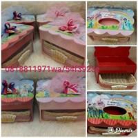 Jual Kotak Tissue Laci Princess
